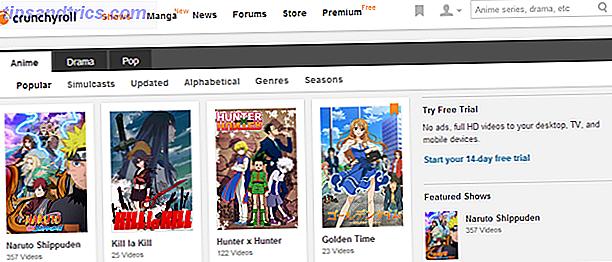 Vous cherchez à regarder plus d'anime, mais ne savez pas où le trouver en ligne?  Cherchez pas plus loin.  Ces quatre sites rendent l'animation plus accessible au grand public que jamais auparavant.