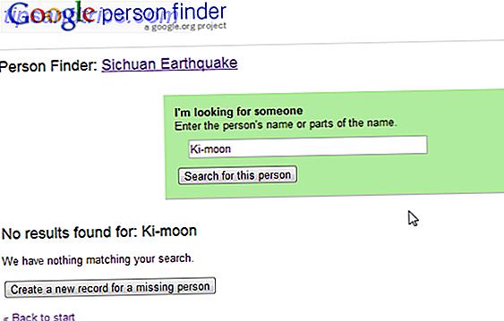 Hoe Google Person Finder te gebruiken om geliefden te