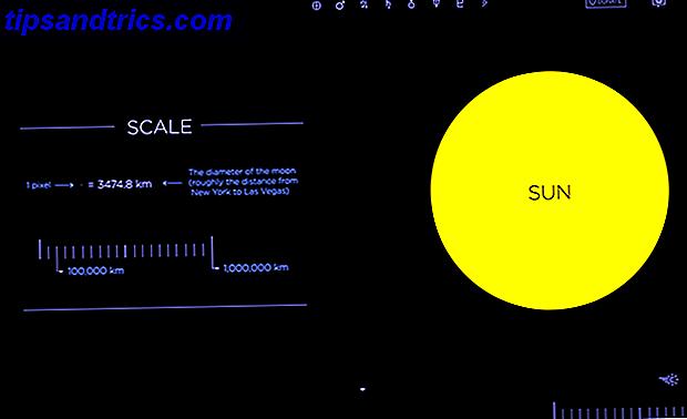 Rummet er vidunderligt og stort.  I dag giver Cool Websites og Apps dig en chance for at rejse solsystemet ved at starte din browser.