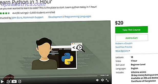 5 kurser, der tager dig fra Python Beginner to Pro