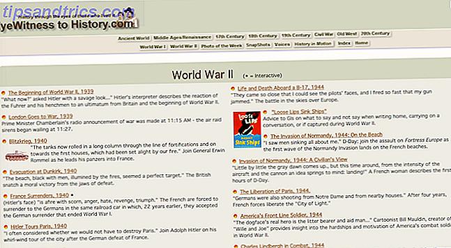 Revivez les meilleures histoires de guerre gratuitement à travers ces sites.