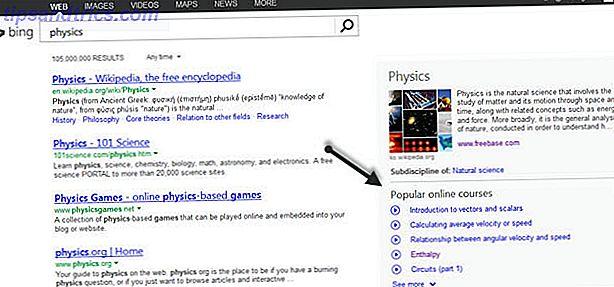 O Bing Search Engine está melhorando como uma ferramenta útil para a educação.  Na última atualização, o Bing traz duas novas maneiras de procurar por alunos que procuram a Web para aprender.