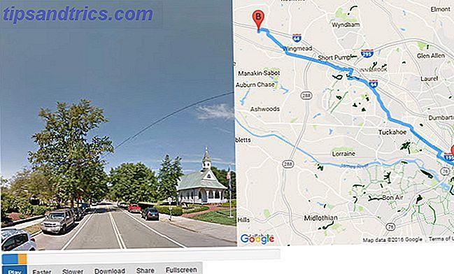 Η Street View της Google είναι ιδανική για να έχει νόημα για μια τοποθεσία, αλλά μπορείτε να αποκτήσετε ακόμα καλύτερη αίσθηση χρησιμοποιώντας το Street View Player.