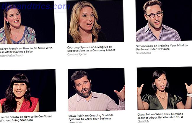 ¿Ha estado su interés en las conversaciones TED ha estado disminuyendo recientemente?  Entonces, mira estas fantásticas alternativas a TED.  Estas entrevistas, discursos, presentaciones e incluso charlas animadas te ayudarán a crecer como persona y profesional.