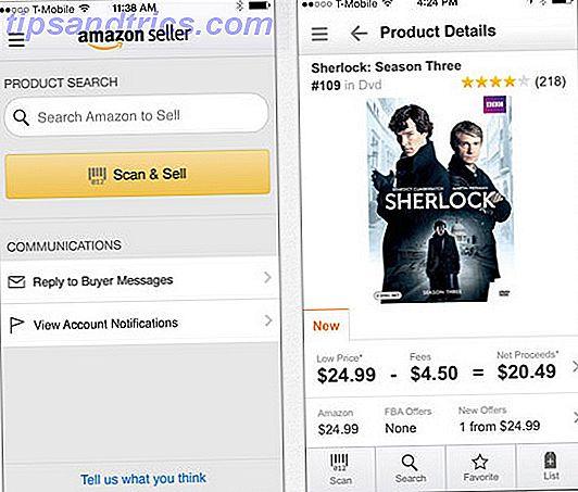 Amazon ahora facilita a vendedores y clientes la venta de libros y otros artículos utilizando su aplicación Amazon Seller para el iPhone, lanzada la semana arrendada y disponible para su descarga gratuita.