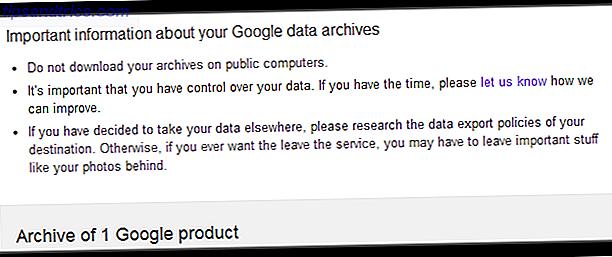 Nous faisons chaque jour confiance à Google avec nos données personnelles: que se passe-t-il quand ils ne nous laissent pas prendre quand nous en avons besoin?  Voici une mise en garde concernant une expérience Google Takeout.