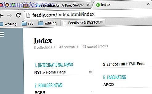 Les Feedly Offline: Last ned uleste elementer til en eBok