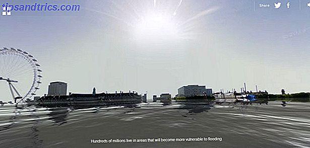 Le 5 juin est la Journée mondiale de l'environnement.  L'accent est toujours mis sur l'impact du réchauffement climatique.  World Under Water est une simulation de Google Street View qui espère rapprocher le message de la maison.