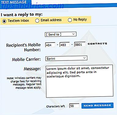 SMS har stadig sine anvendelser.  Der er også websteder, der giver dig mulighed for at sende enkle tekstbeskeder til enhver telefon gratis.  Lad os se de bedste websteder, der passer til dit formål.