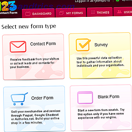 123ContactForm: Einfaches Erstellen verschiedener Arten von Online-Formularen [15 kostenlose Platinum-Konten]