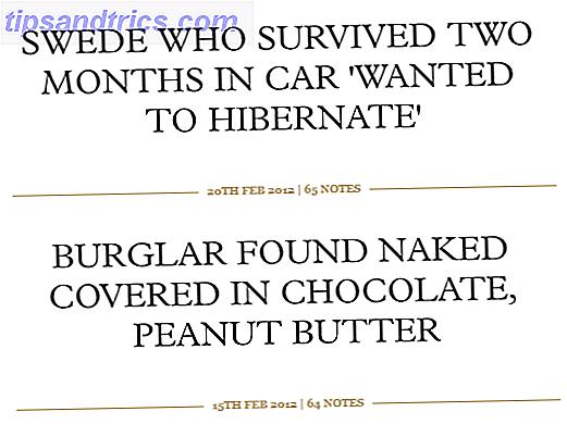 αστεία παραδείγματα χρονολογικών τίτλων
