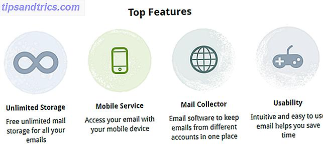Si no quieres una cuenta de Gmail, ¿qué opciones tienes?  Existen otros buenos servicios alternativos de correo electrónico que puede considerar, aunque Google tiene la mayor parte de la bandeja de entrada.