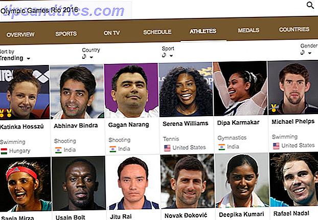 Πώς να ακολουθήσετε τους αγαπημένους σας Ολυμπιακούς αθλητές και εκδηλώσεις του Ρίο 2016