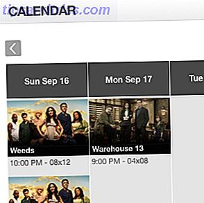 FollowShows hilft Ihnen, Ihre Lieblingssendungen im Auge zu behalten, bietet RSS- und iCal-Feeds