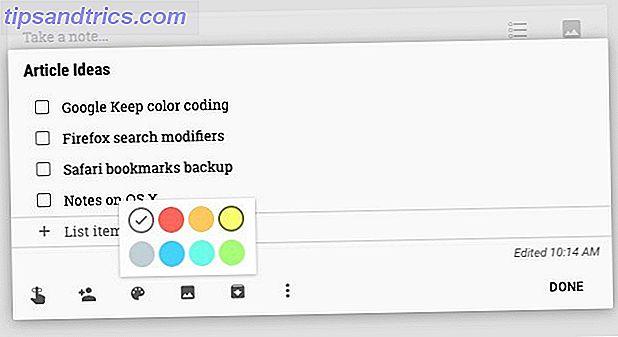Το Google Keep είναι εξαιρετικό για τη λήψη απλών σημειώσεων, αλλά δεν είναι πάντα το καλύτερο για οργάνωση.  Εδώ είναι πώς να διευκολύνετε τον εαυτό σας.