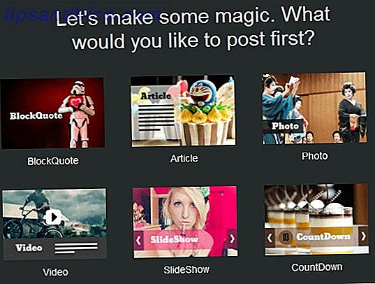 Jux: Crea fácilmente blogs visualmente atractivos para artículos y medios