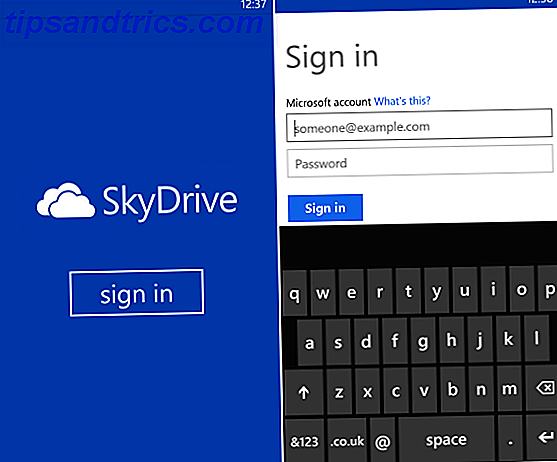 skydrive Windows-Telefon
