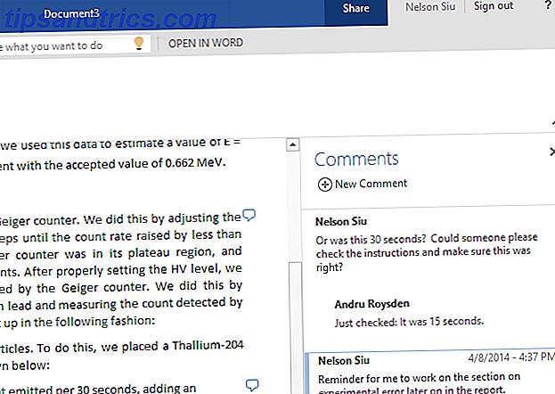 Mises à jour en ligne Word avec commentaires, améliorations de la liste et notes de bas de page