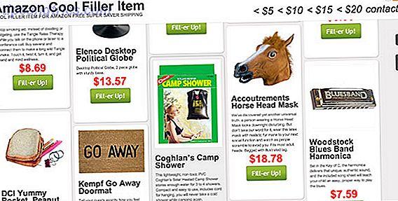 CoolFillerItem.com: una lista de artículos baratos de relleno para reclamar la entrega de Amazon Super Saver