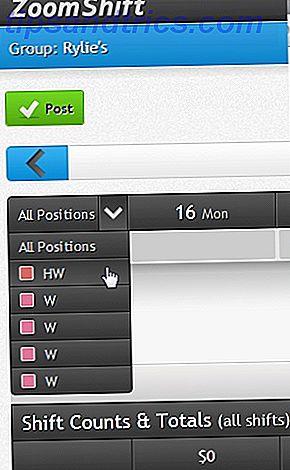 ZoomShift: una aplicación web fácil de usar para programar turnos de empleados (licencias gratuitas)