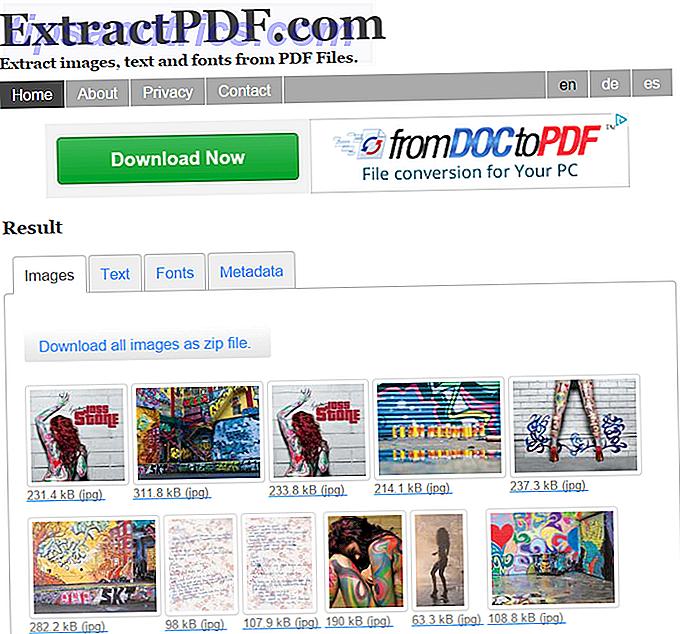 Parfois, vous devez extraire des images à partir d'un fichier PDF et les utiliser dans des documents Word, des pages Web et des présentations PowerPoint.  Gardez ces cinq outils près du travail.