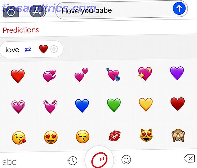 Cómo desbloquear el teclado Emoji iPhone oculto (y las