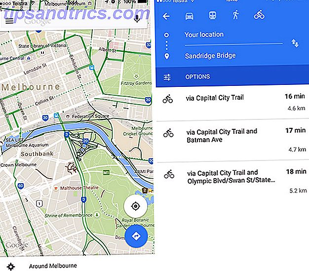 Bike Different: Les meilleures applications de cyclisme iPhone googlemaps