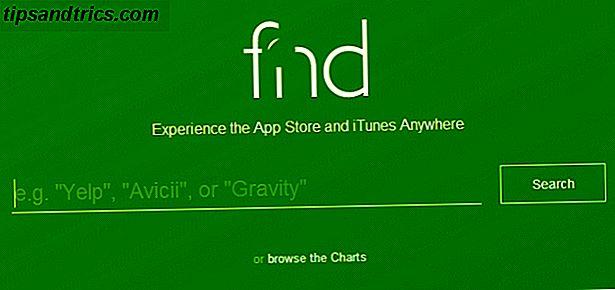 Navega y busca todas las partes de iTunes Store rápidamente con Fnd.io
