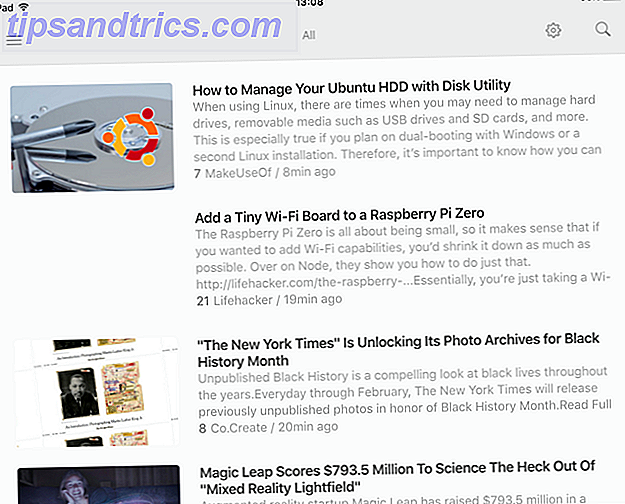 Er zijn veel iPad RSS-apps die hetzelfde werk doen - dus hoe weet je welke de beste is?  Dit is je antwoord.