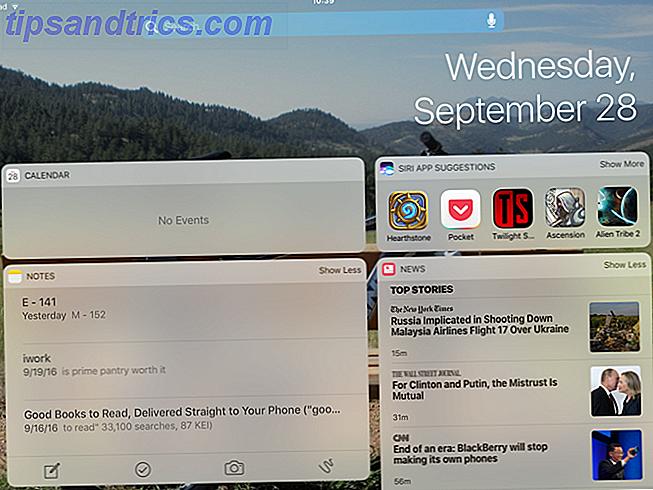 iOS 10 Widgets sont géniaux: Voici comment les mettre à bon usage