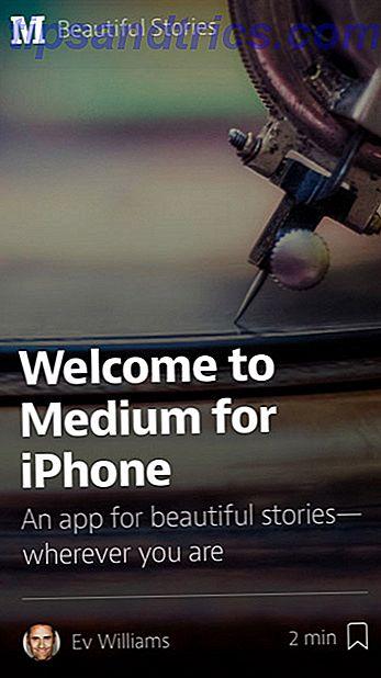 Publishing Platform Medium lanza una aplicación gratuita de solo lectura para iPhone