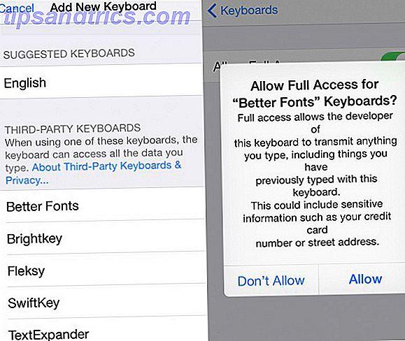 5 claviers iOS 8 prenant en charge les fichiers GIF, les polices fantaisie et les thèmes