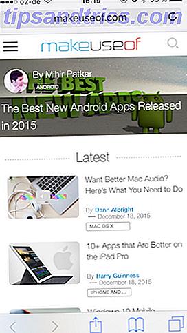 Ποιο είναι το καλύτερο πρόγραμμα περιήγησης iOS για εσάς;  Εδώ είναι 8 επιλογές