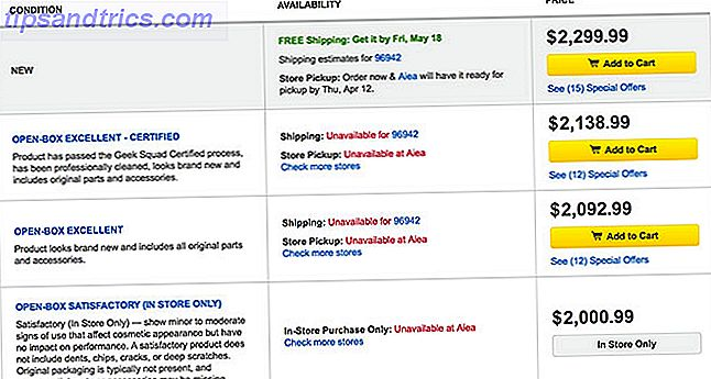 Si vous souhaitez économiser sur un nouveau MacBook, iPad ou Apple Watch, vous devez impérativement consulter les offres Open Box de Best Buy sur les équipements Apple.