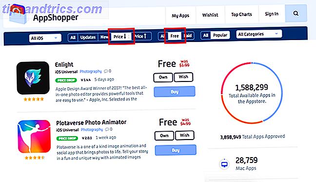 U kunt deze apps van derden gebruiken om de dagelijkse prijsdalingen in de iOS-app store bij te houden.