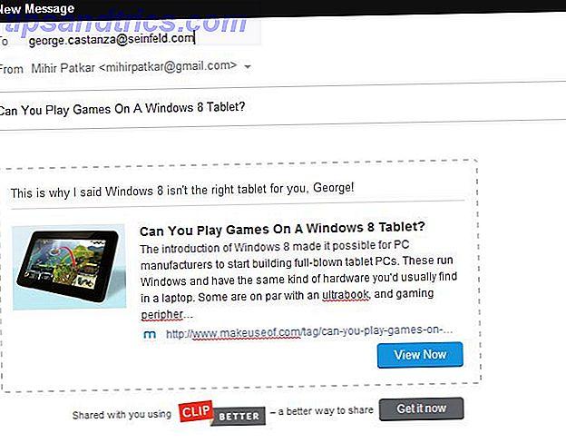 Emaila länkar?  Gör dem rika och klickbara med klipp bättre
