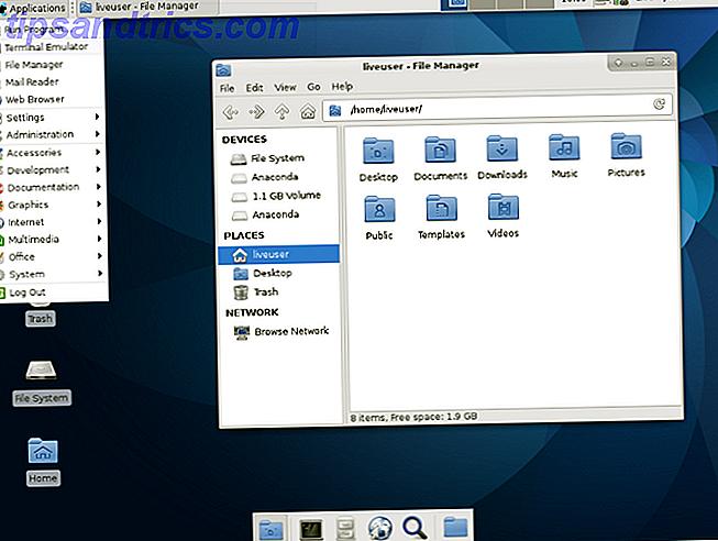 Wenn Sie kürzlich auf Linux umgestiegen sind und die Dinge langsam laufen, benötigen Sie wahrscheinlich eine leichtere Desktop-Umgebung.  Eine gute Option ist Xfce.