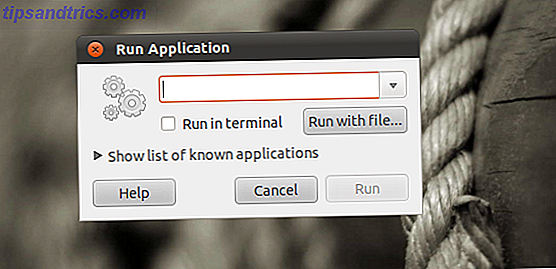 Alt & F2 - Die ultimative Linux-Tastaturkürzel