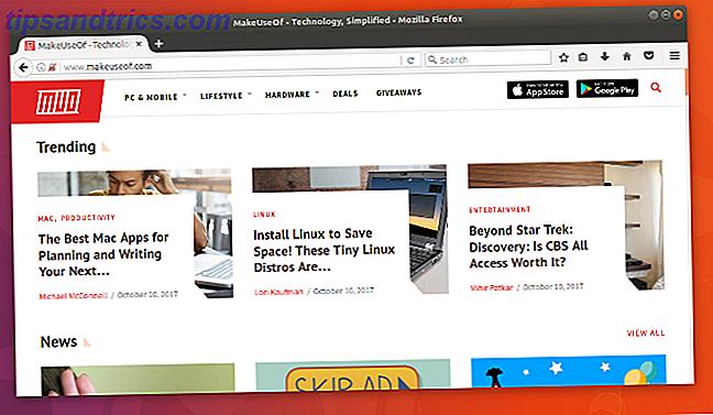 Varför Firefox Quantum ska vara din standard Linux-webbläsare