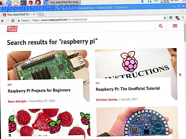 8 stora webbläsare du kan köra på din hallon Pi 3