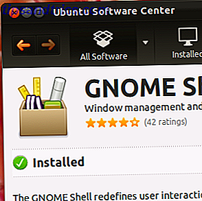 Installera enkelt Gnome Shell i Ubuntu 11.10 & Newer [Linux]