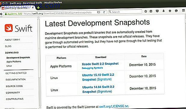 Cómo iniciar la programación en Swift en Ubuntu