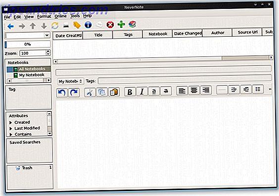 Accédez à vos données Evernote avec le client Open Source Nevernote