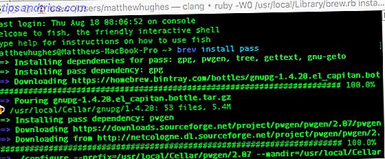 Vous cherchez un gestionnaire de mot de passe pour Linux ou Mac OS X open source?  Eh bien, vous avez de la chance, parce que Pass est gratuit, basé sur des normes de cryptage robustes, et super facile à utiliser!