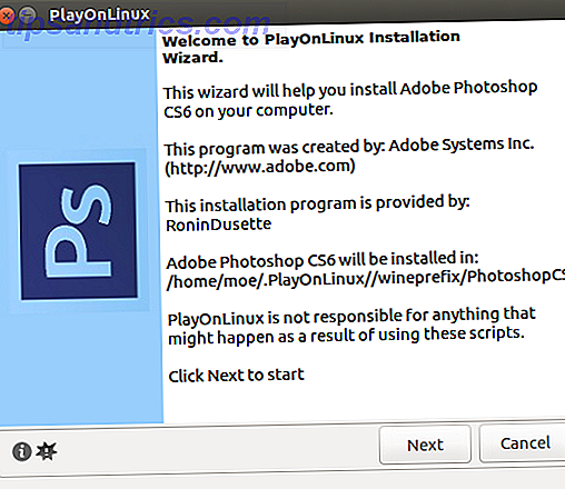 Wie installiert man Adobe Photoshop unter Linux - PS Installer