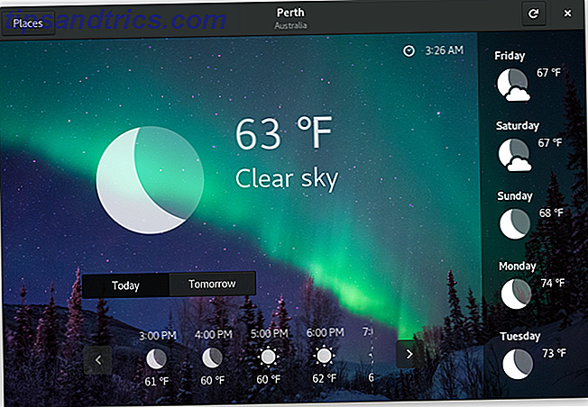 10 sätt att kontrollera väder från ditt Linux-skrivbord