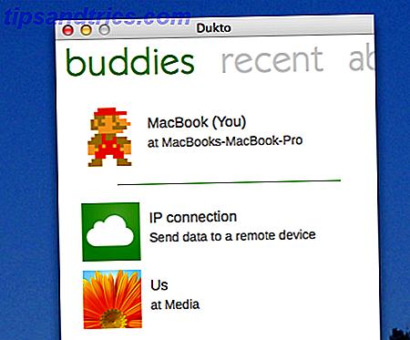 Trascina e rilascia un file;  inviarlo al desktop di un altro computer sulla tua rete.  Dukto semplifica la condivisione dei file locali, indipendentemente dal sistema operativo.