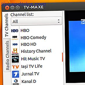 Verwenden Sie Sopcast, um Echtzeit-Streaming mit TV Maxe [Linux]