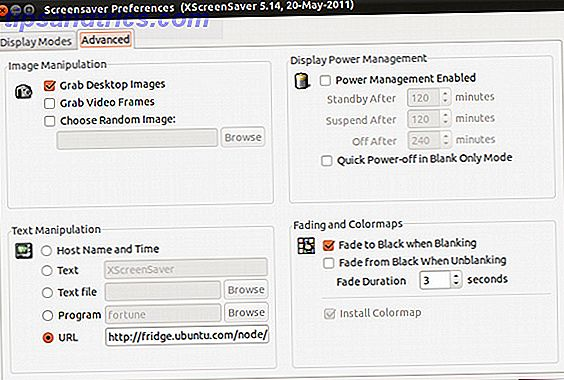 Hoe de screensaver te veranderen op Ubuntu 11 10
