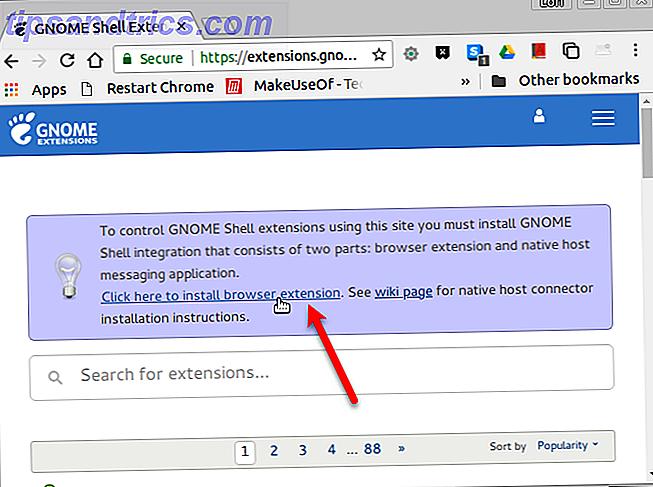 So passen Sie die GNOME-Shell in Ubuntu mithilfe von Erweiterungen